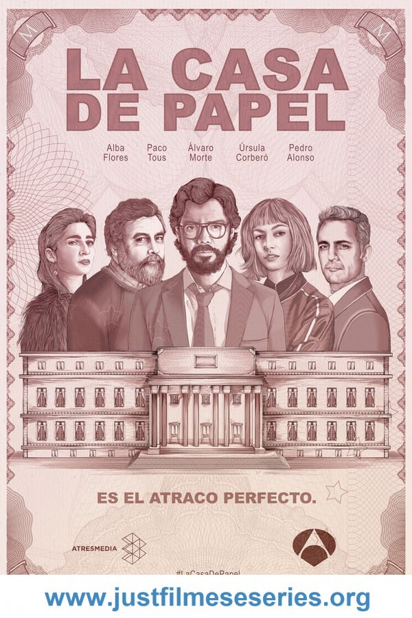 Baixar La casa de papel 1ª Temporada (2017) Torrent Dual Áudio via Torrent